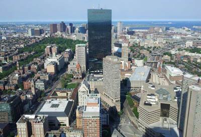 Aciron case study skyline view of city