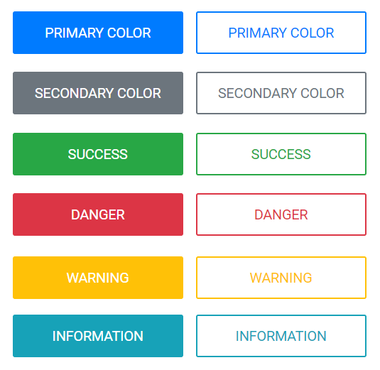 business applications color coding