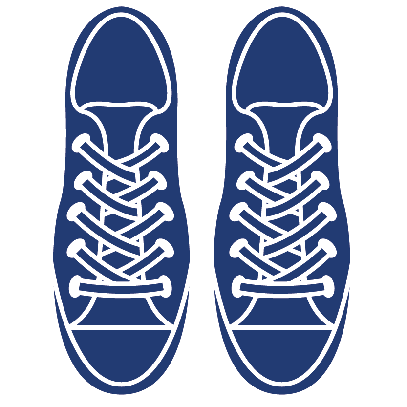 Aciron icon two shoes top view