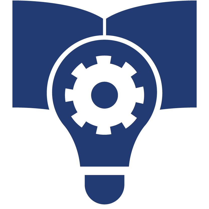 Aciron icon lightbulb with gear