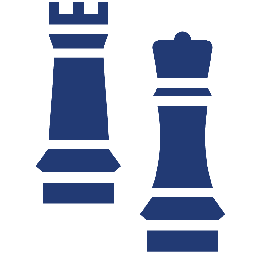 business technology consulting two chess pieces