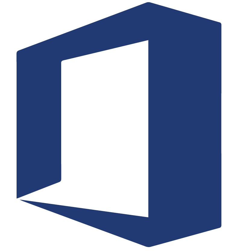 business technology consulting microsoft office icon