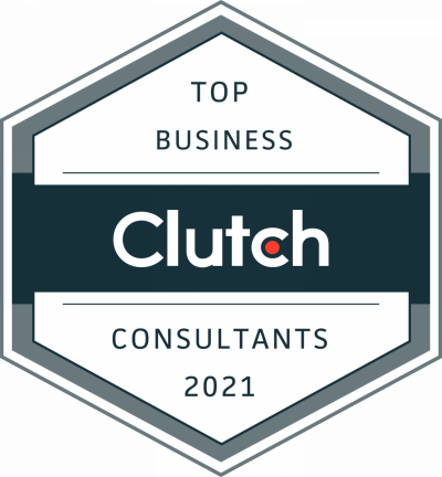 Aciron Top Business Strategy Consulting Firm Clutch Award 2021