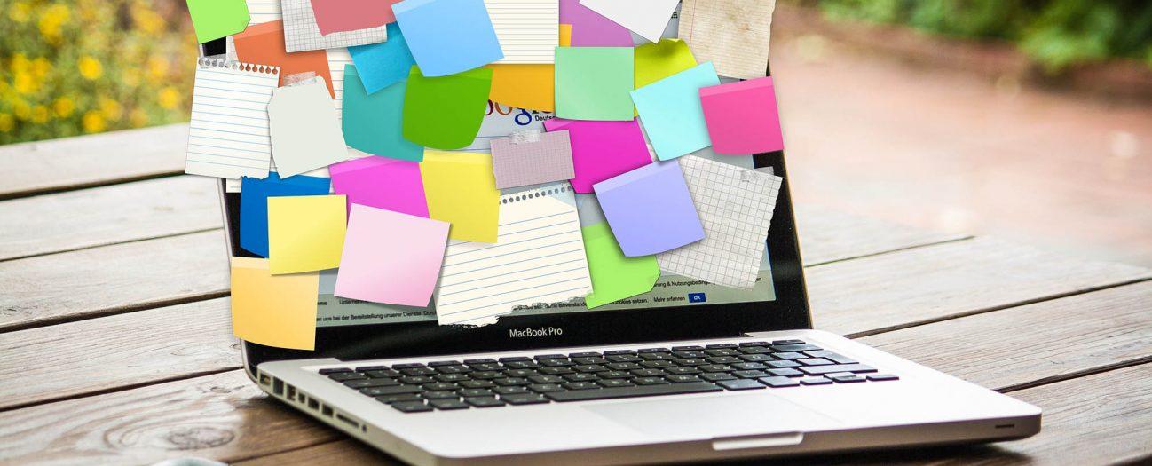 computer notepad custom application