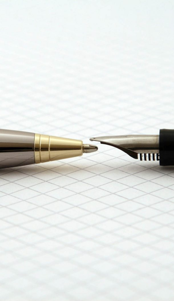 two pens on graph paper case study strategy