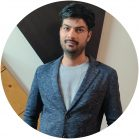 Aciron Team member Mayank headshot