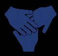hands showing team-work